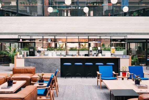 200 seaters Event Space Gurgaon Sector 28 wework-platina-tower