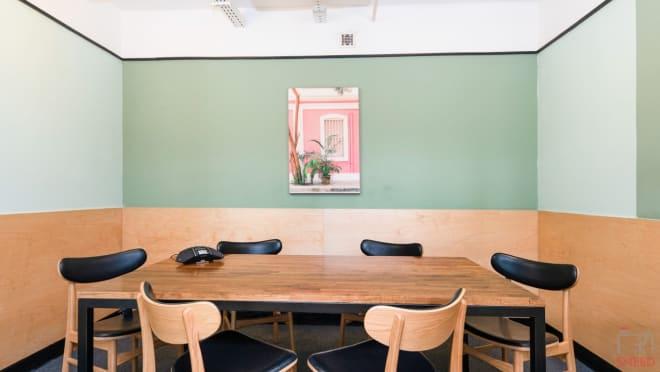 5 seaters Meeting Room Bangalore Koramangala wework-prestige-atlanta