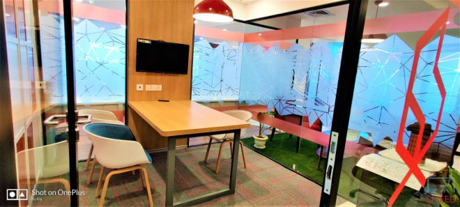 3 seaters Meeting Room Gurgaon Sector 53 the-office-pass-paras-downtown