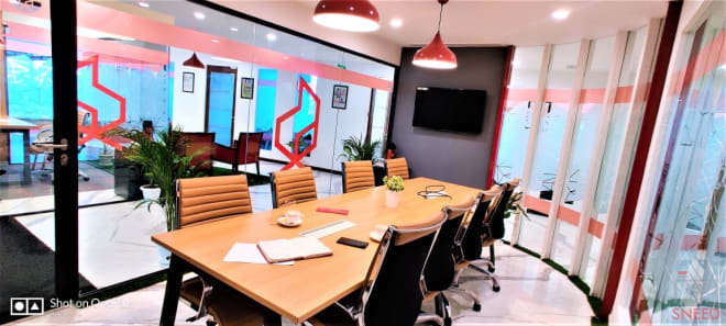 8 seaters Meeting Room Gurgaon Sector 53 the-office-pass-paras-downtown