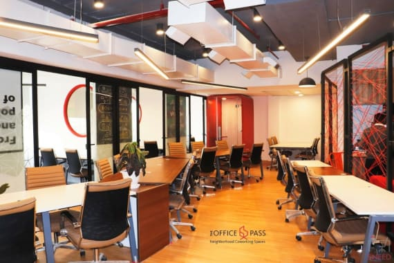 110 seaters Open Desk Gurgaon Sector-48 the-office-pass-vipul-trade-centre