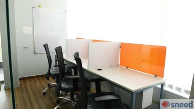 3 seaters Private Room Bangalore Rajajinagar opus-desk