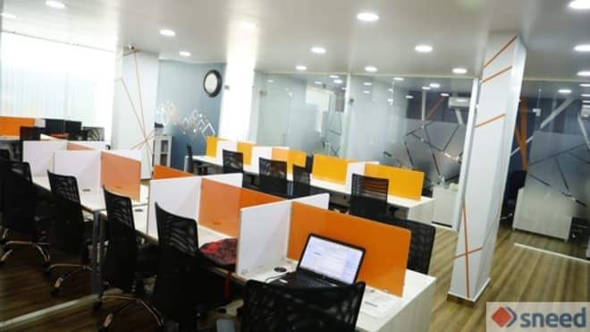 23 seaters Open Desk Bangalore Rajajinagar opus-desk