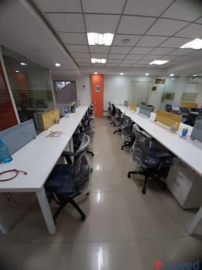 43 seaters Open Desk Bangalore HSR incubex-hsr
