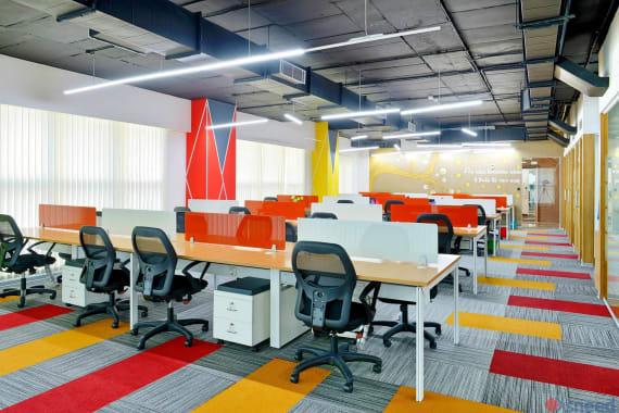 50 seaters Open Desk Bangalore Koramangala indiqube-ascent
