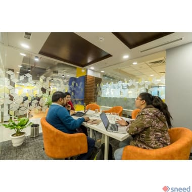 6 seaters Meeting Room Gurgaon Sector 50 the-garage-society-business-zone