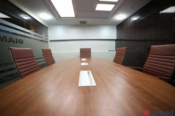 8 seaters Meeting Room Chennai Guindy trend-india-workspaces-chennai