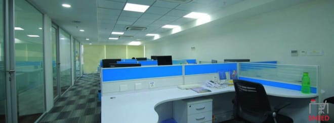 10 seaters Open Desk Hyderabad Hitech City spacion-business-centre