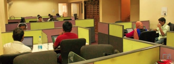 35 seaters Open Desk Bangalore Koramangala cubic