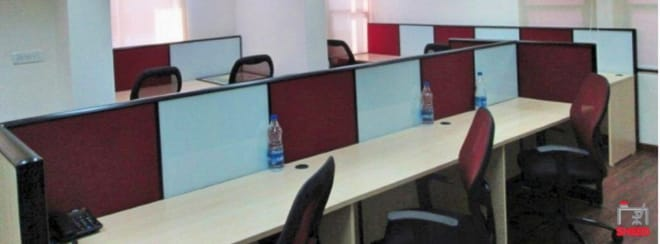 20 seaters Open Desk Bangalore Cunningham Road dbs-house
