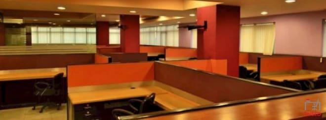 54 seaters Open Desk Bangalore Brigade Road solaris