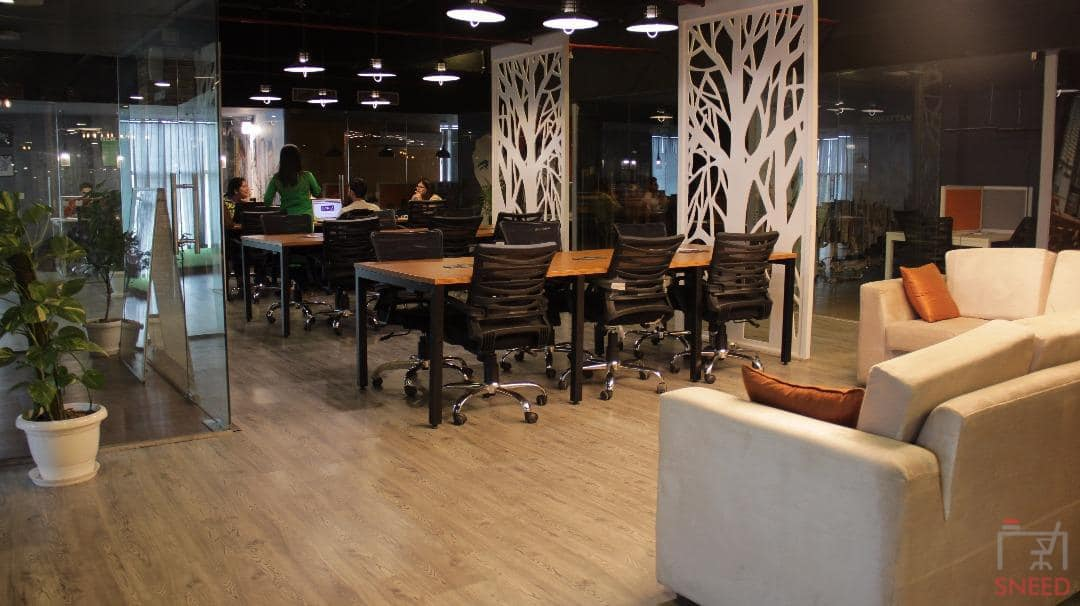 70 seaters Open Desk image