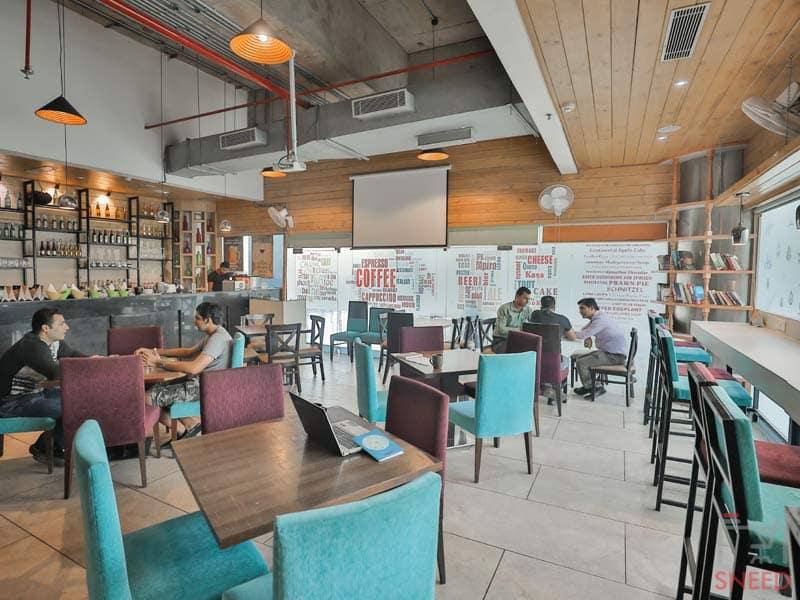 myHQ Drool Fresh Bake house  Coworking Space-Dwarka