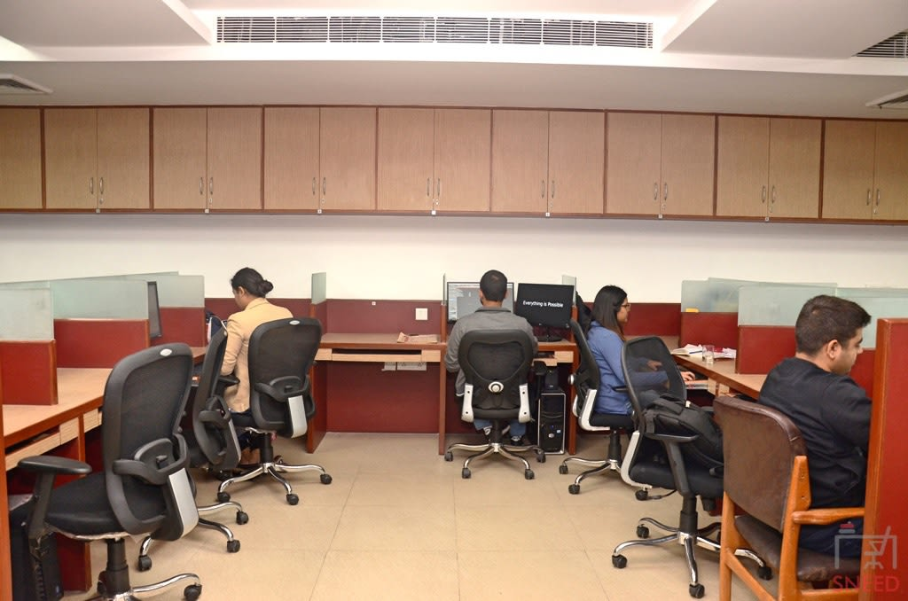 36 seaters Open Desk image
