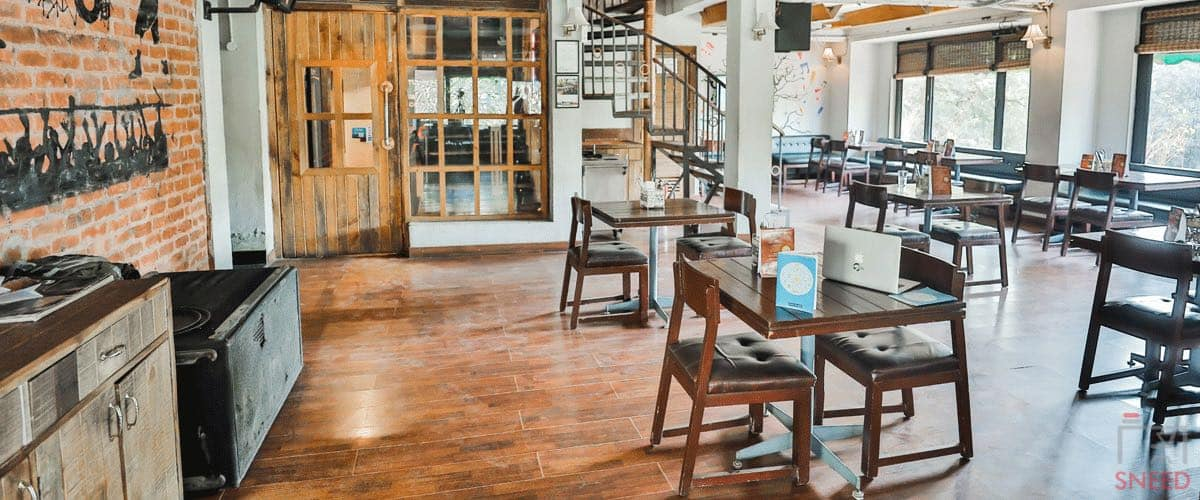 Locale Coworking Cafe  myHQ-Saket