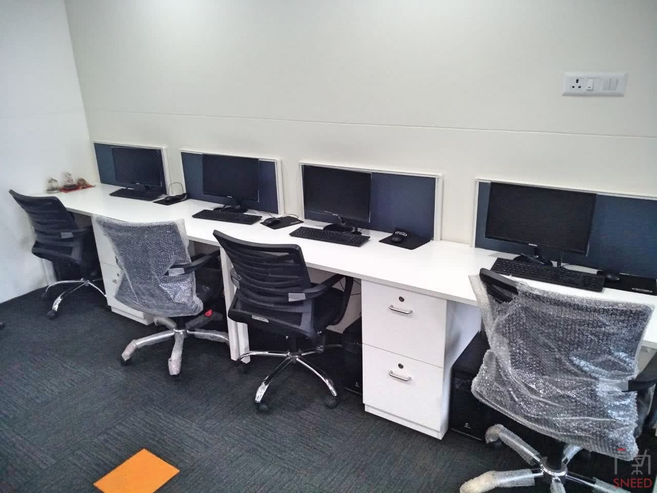 6 seaters Open Desk image