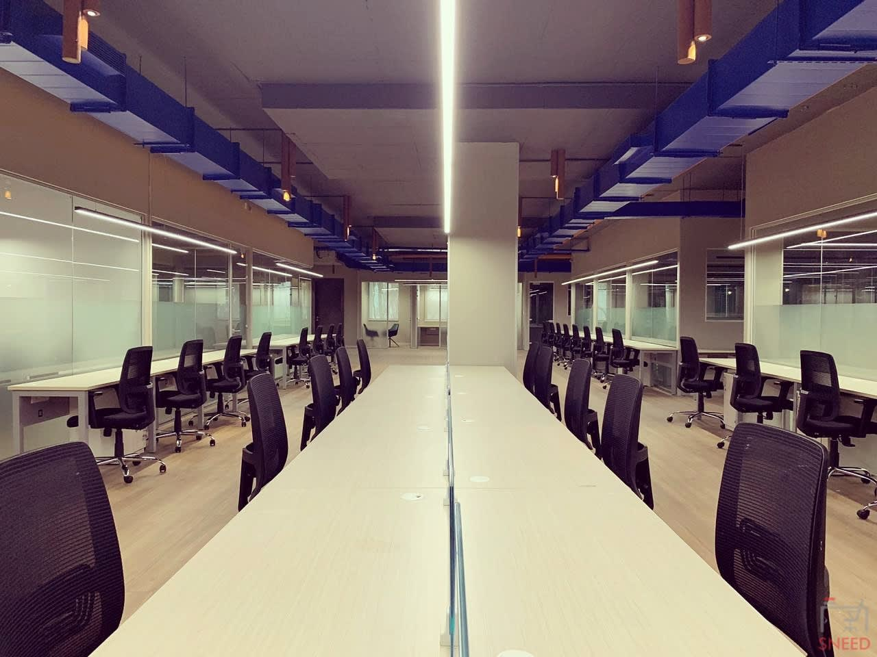80 seaters Open Desk image