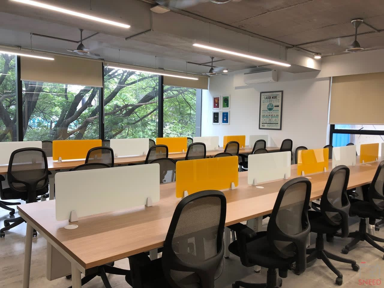 21 seaters Open Desk image