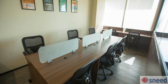 11 seaters Open Desk image
