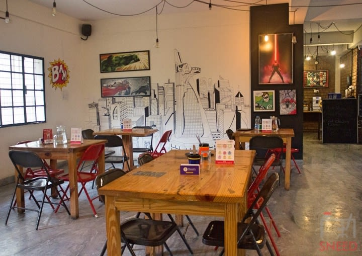 Dialogues Cafe Down The Alley-Banashankari