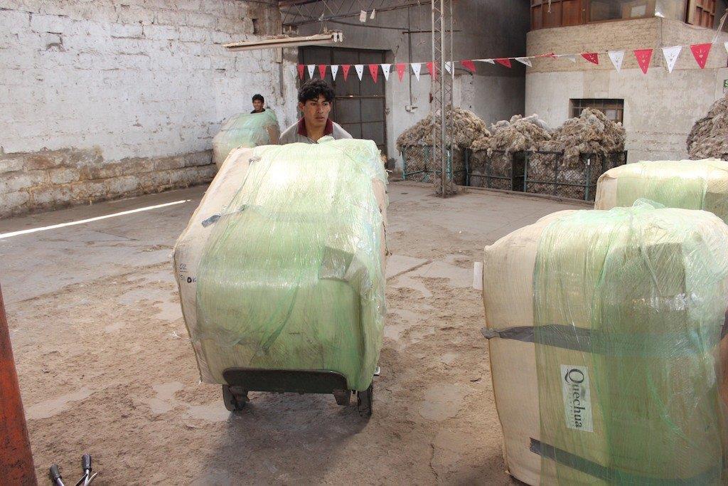 American Fiber Travels To Peru