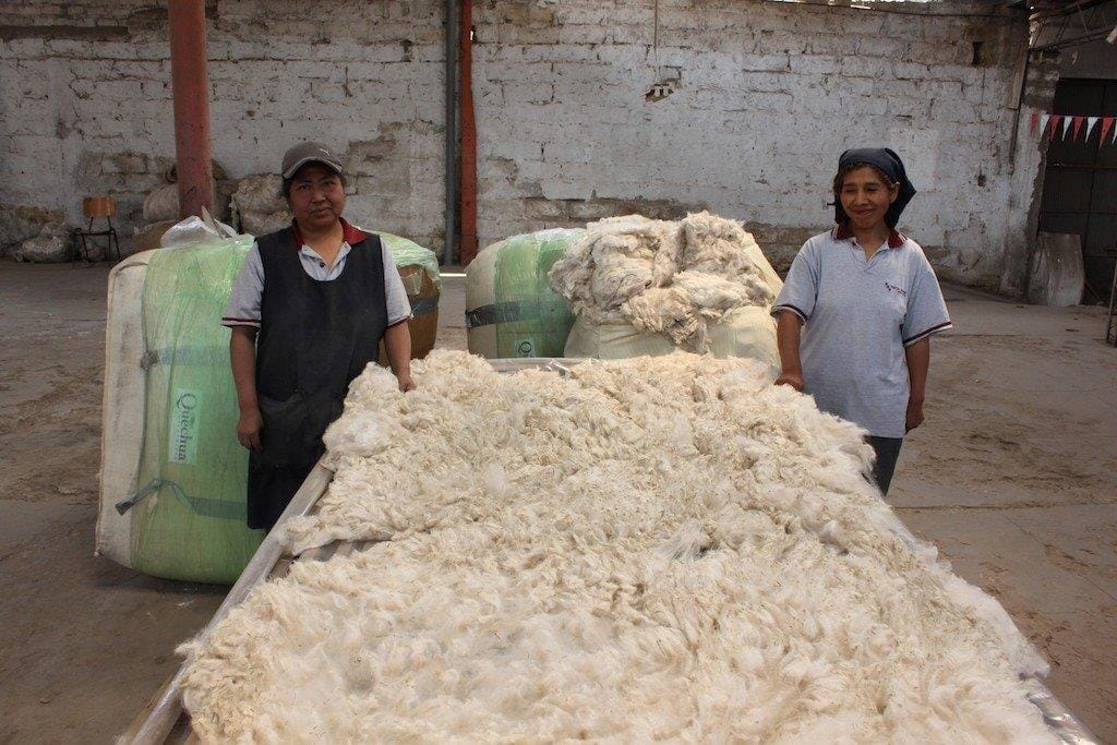 Snowmass Royal Bales Arrive In Peru
