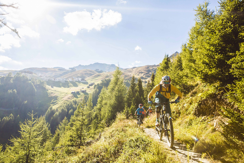 Mountainbiken in het Ötztal
