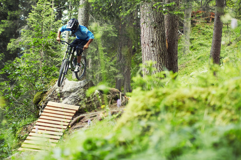 Mountainbiken in Fiss
