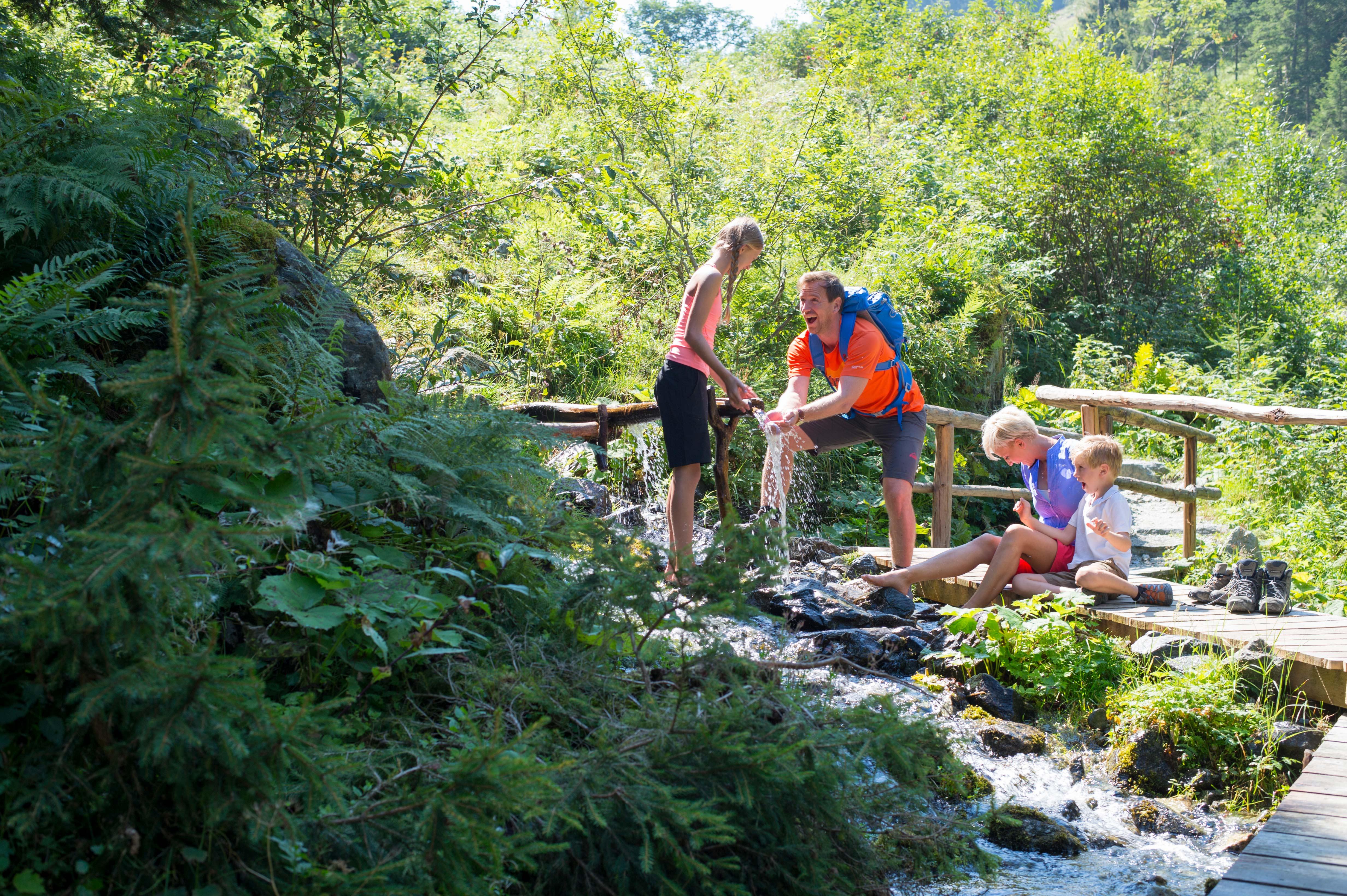 Wandelen met de familie in Bramberg am Wildkogel