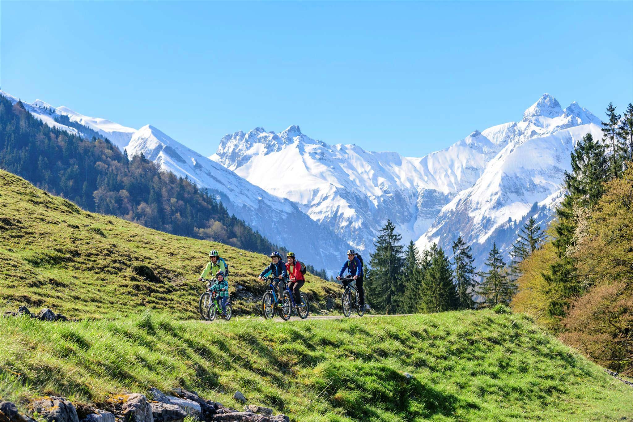 Mountainbiken in Oberstdorf