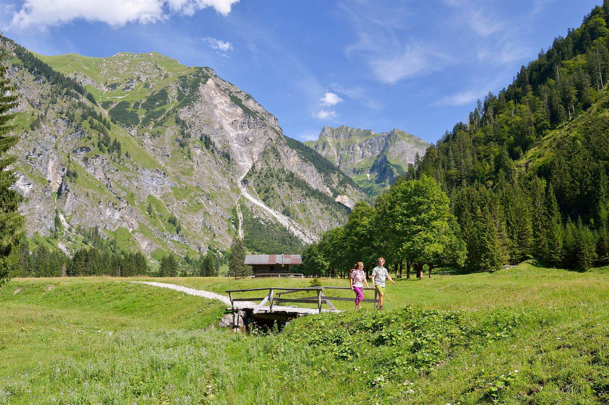 Wandelen in Oberstdorf