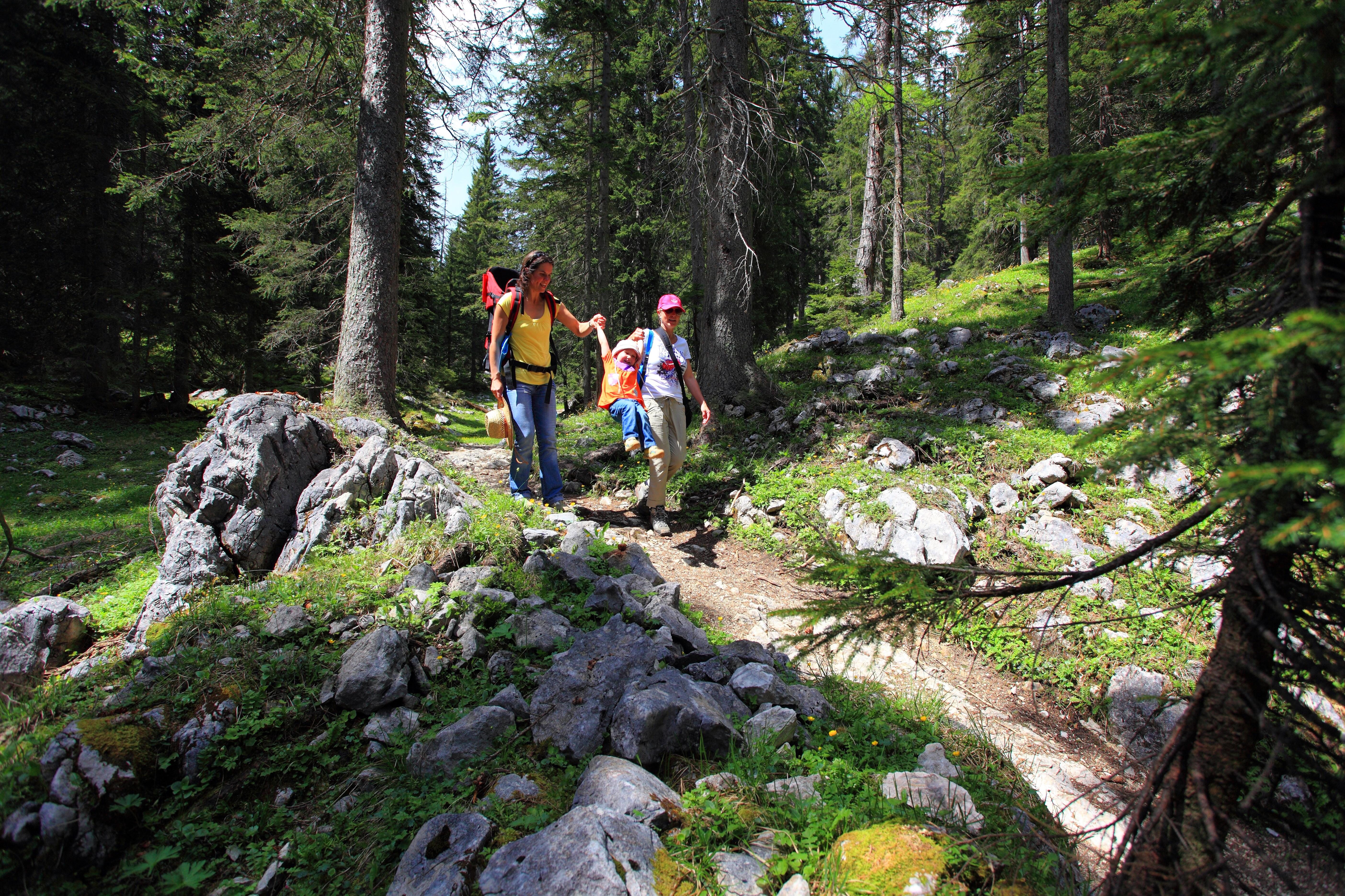 Wandelen in St. Johann in Tirol