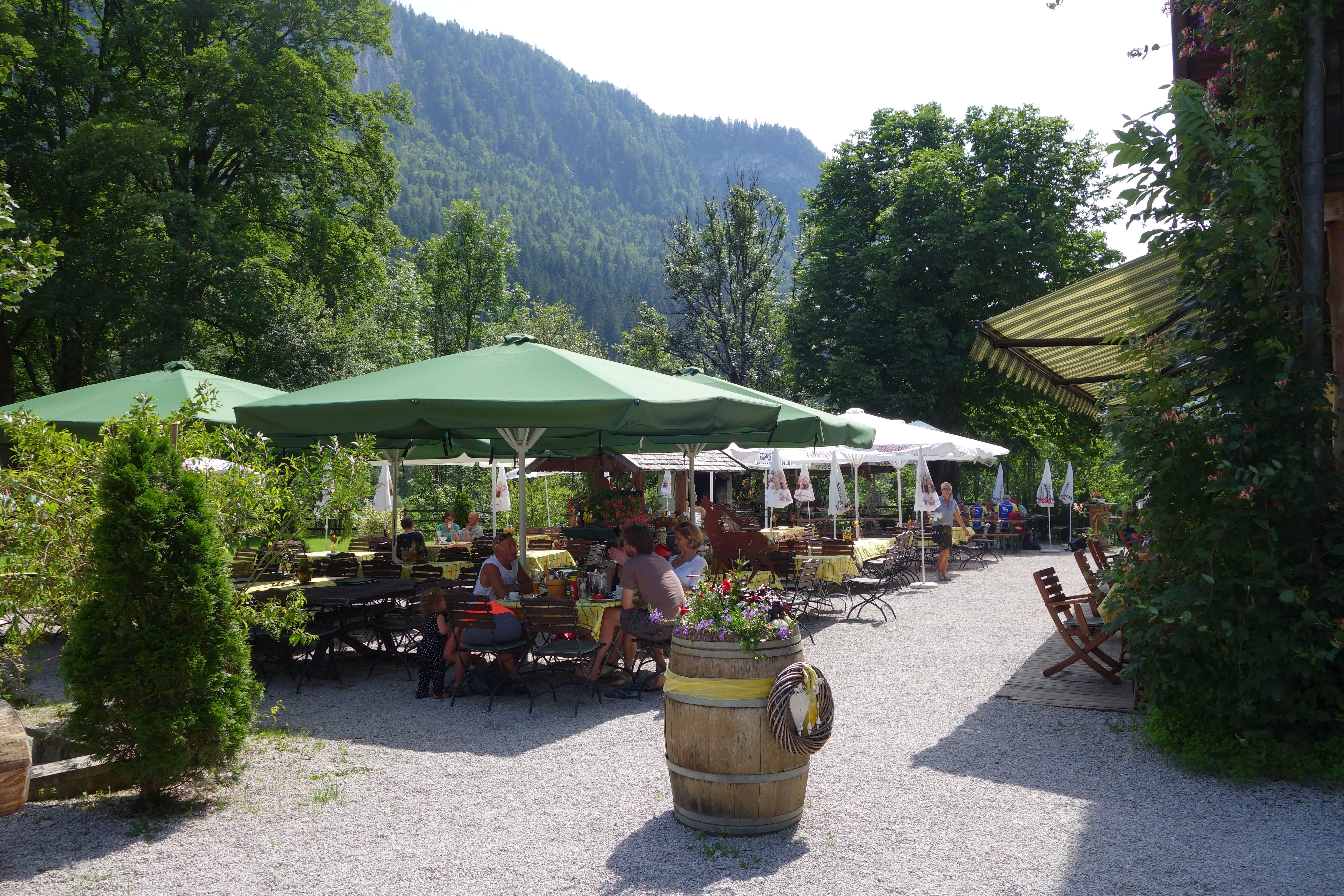 Berghut in het alpbachtal