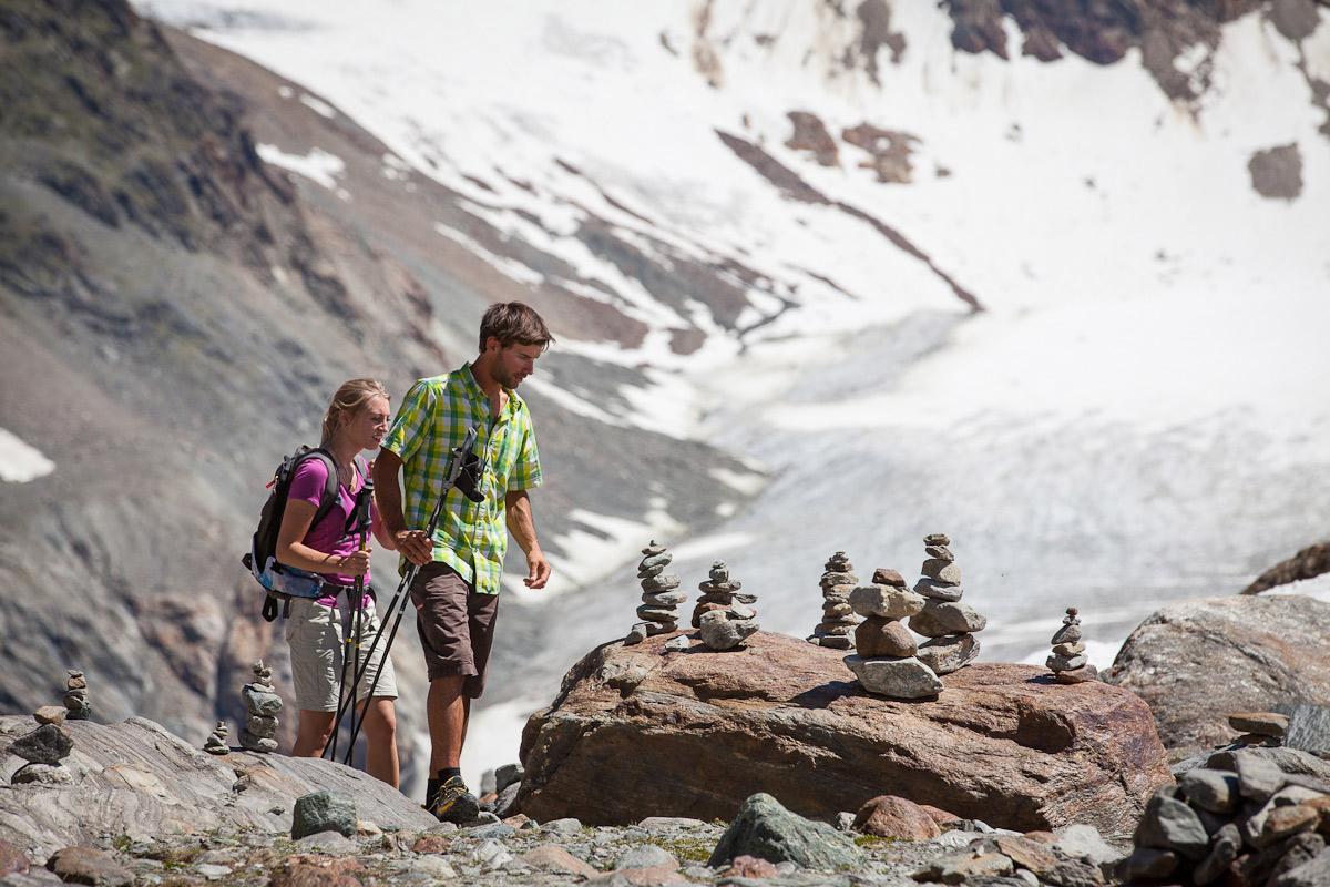 Wandelen Pitztaler Gletscher
