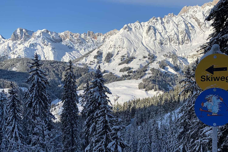 Wintersport met kinderen in Hochkönig