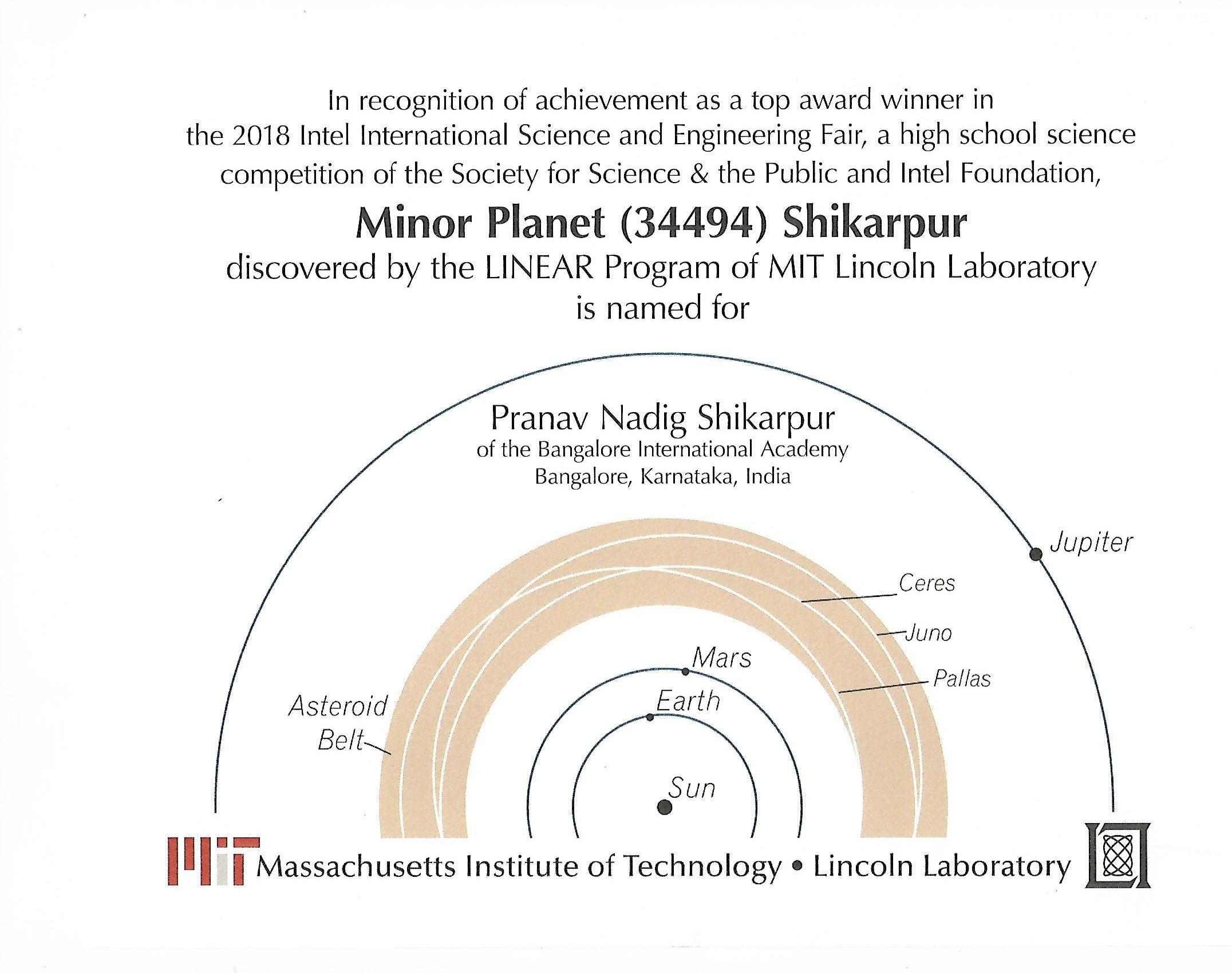 Minor Planet Image