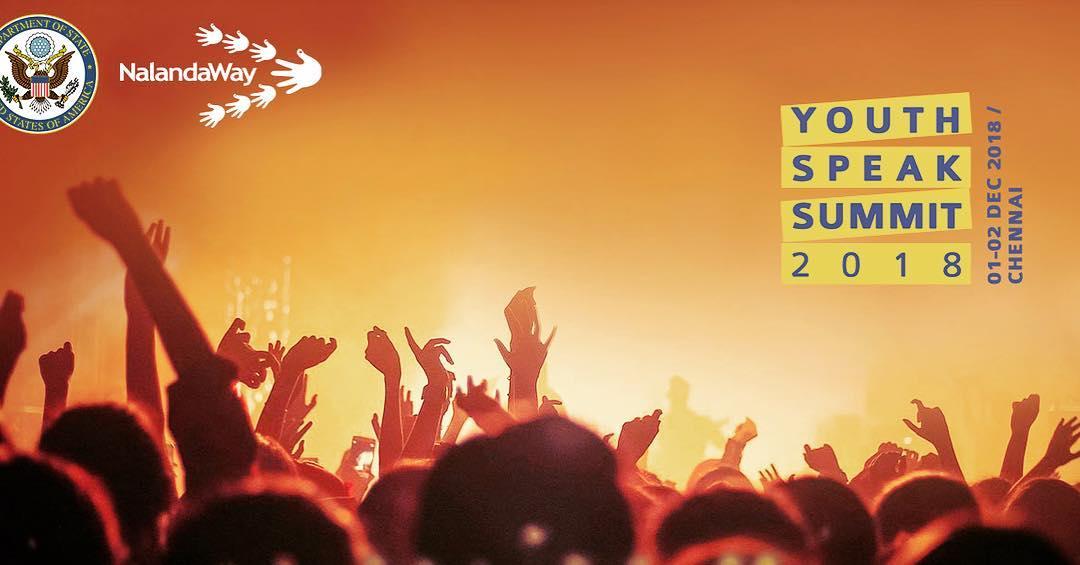 Youth Speak Summit 2018 Logo