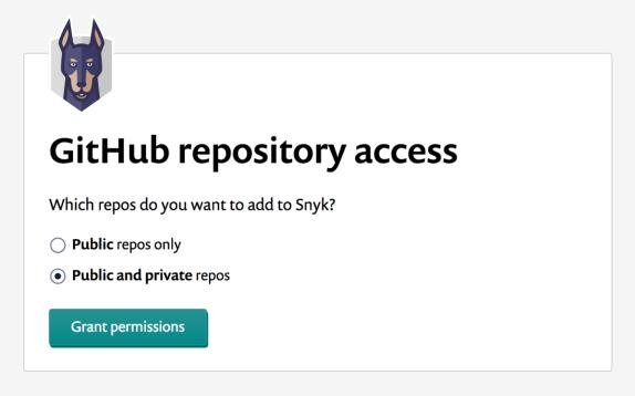 Repo access permissions