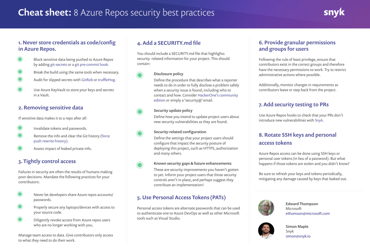 8 Azure Repos Security Best Practices