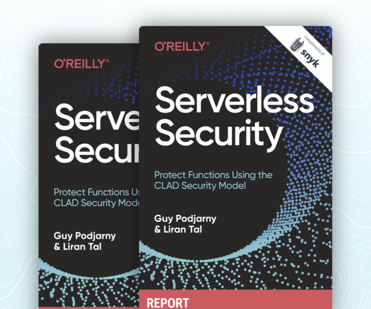 Serverless Security Protect Functions Using the CLAD Security Model
