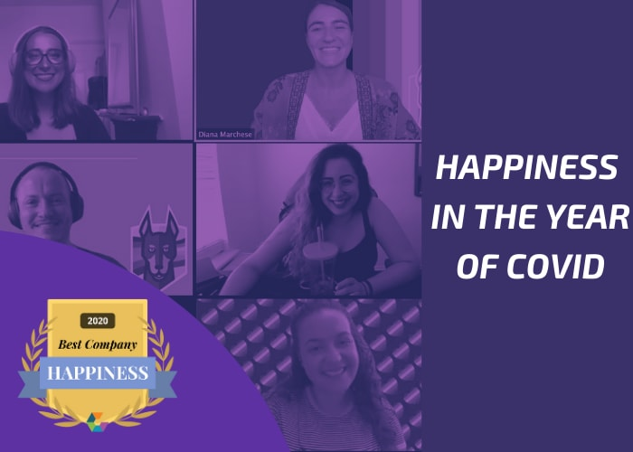 happiness in the year of COVID-19