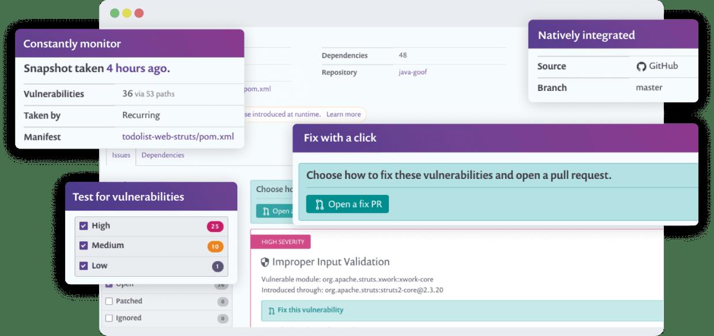 open source vulnerability scanner user interface