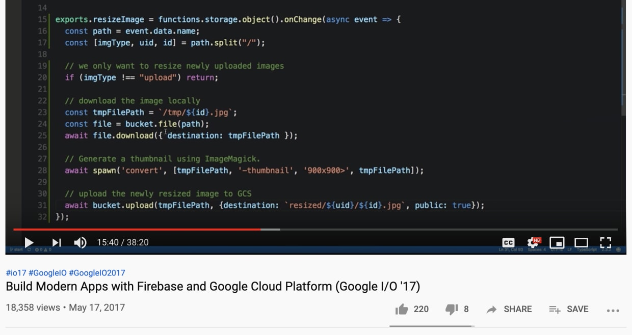 build modern apps with firebase and google cloud platform google i/o 2017