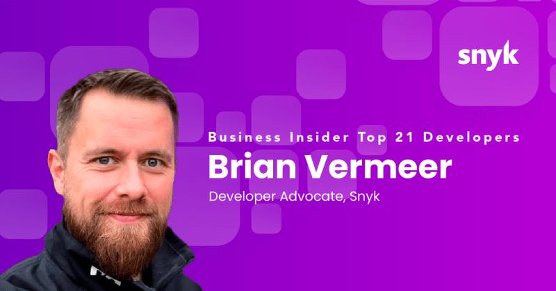 Brian Vermeer - A Business Insider Top Dev