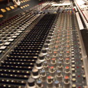 recording studio at summer camp for music