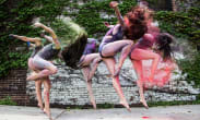 Contemporaray Jazz Fusion Dance Troupe at New York Camp