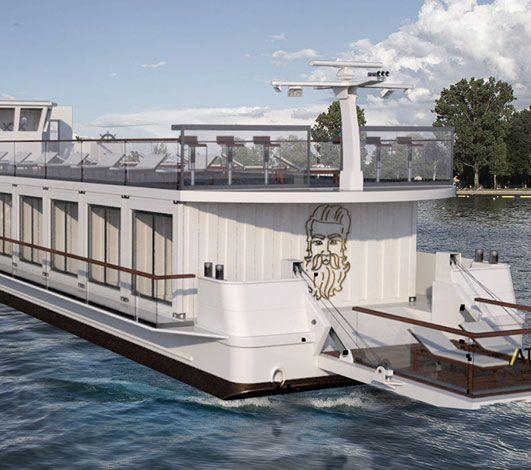 MS Attila, un concept novateur et insolite de boutique boatel pour un prochain Codir en Suisse