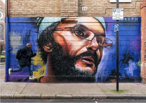 Un artiste londonien pour célébrer la diversité britannique