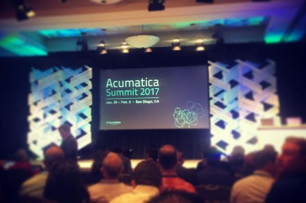 Acumatica Summit 2017 : Innovate, Collaborate, Accelerate !