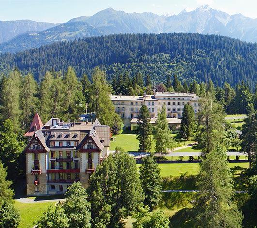 Réouverture Waldhaus Flims Alpin Grand Hotel & Spa : 140 ans d'histoire hôtelière